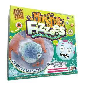 Monster Fizzees Excavation Dig Kit
