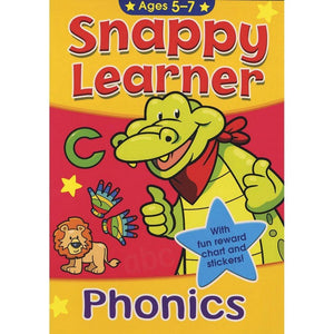Educational Work Book - Phonics (Ages 5-7)