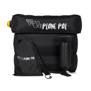 Plane Pal - The Airplane Seat Extender - Full Kit (With Pump)