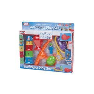 'Lighthouse Pile Up' Bathtime Playset
