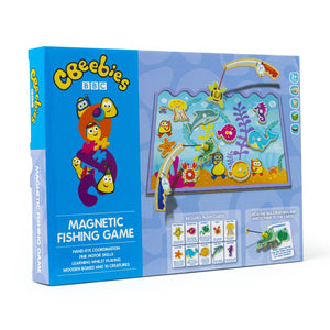 Cbeebies Magnetic Educational Fishing Game