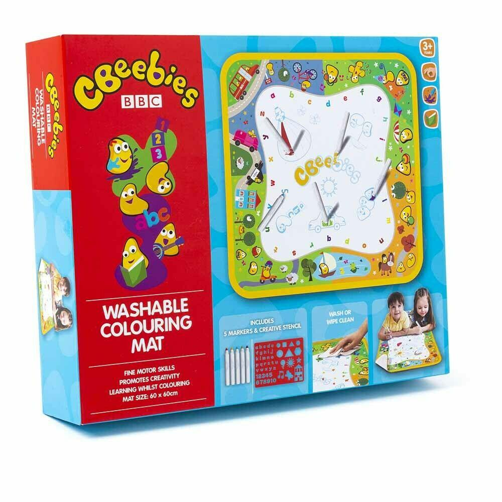 Cbeebies Washable Doodle Play Mat