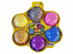 Grafix Gelli Blobz Squishy Fun Foam - Six Pack