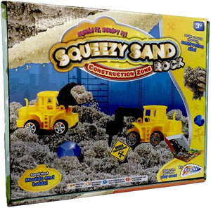 Squeezy Magic Sand Rock Construction Modelling Set