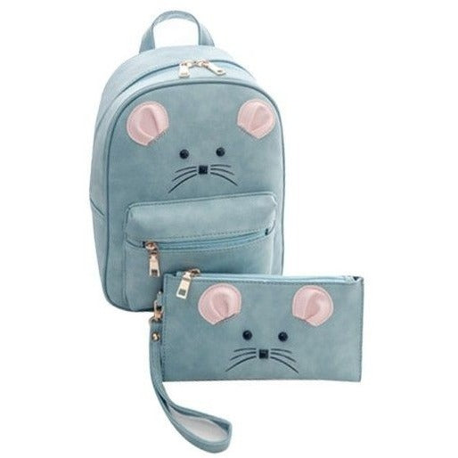 Mouse Backpack and assorted Pouch - Sweety Cats Boutique - 4