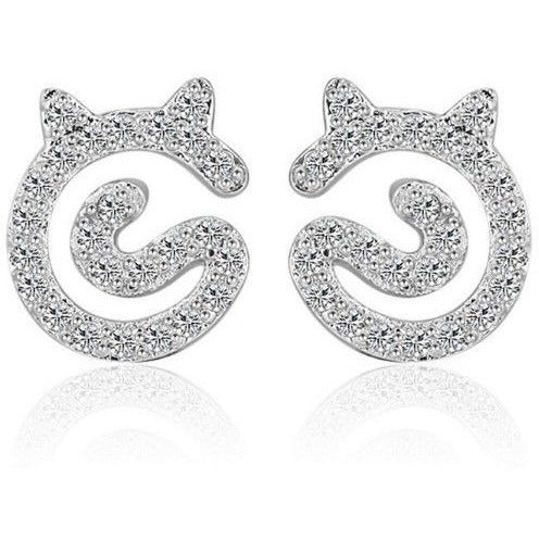 Cat sparkle Earrings - Sweety Cats Boutique - 1