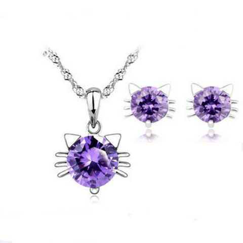 Cat Crystal set