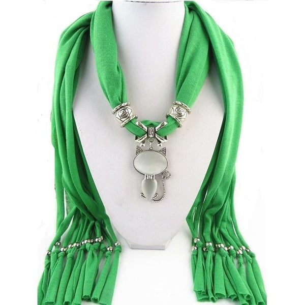 Scarf with Cat Pendant - Sweety Cats Boutique - 5