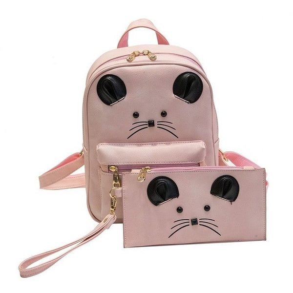 Mouse Backpack and assorted Pouch - Sweety Cats Boutique - 3