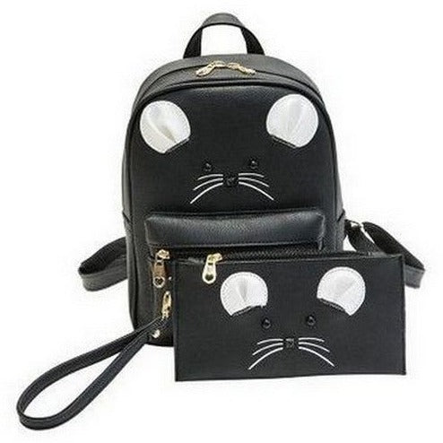 Mouse Backpack and assorted Pouch - Sweety Cats Boutique - 2
