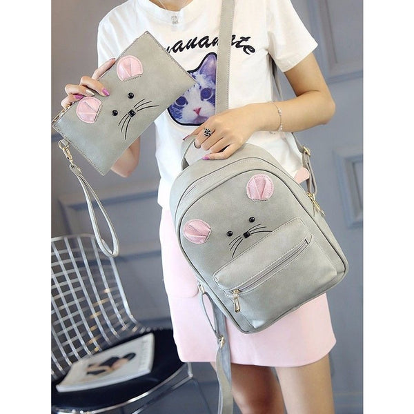 Mouse Backpack and assorted Pouch - Sweety Cats Boutique - 5