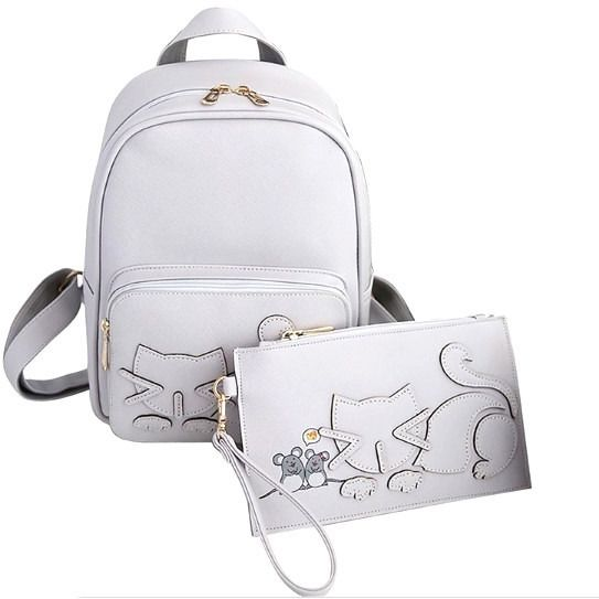Cat Backpack and assorted pouch - Sweety Cats Boutique - 1