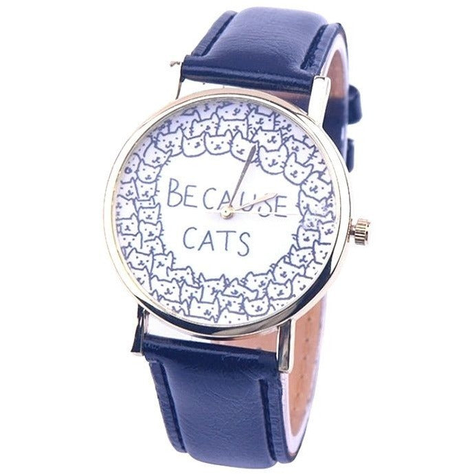 Because Cats Watch - Sweety Cats Boutique - 1