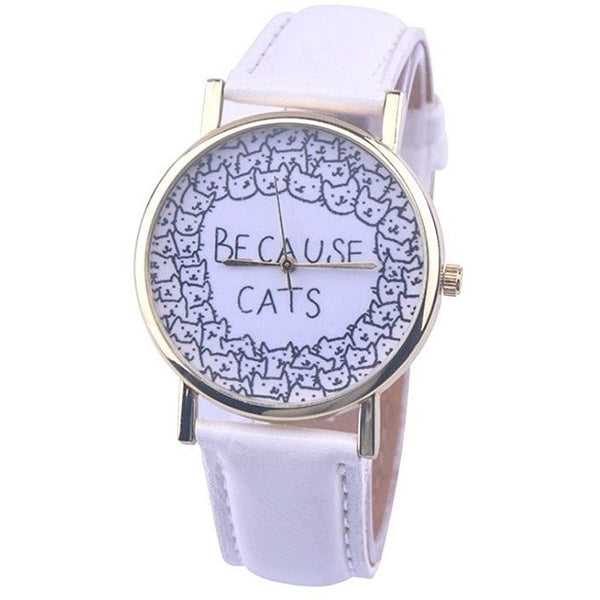 Because Cats Watch - Sweety Cats Boutique - 2