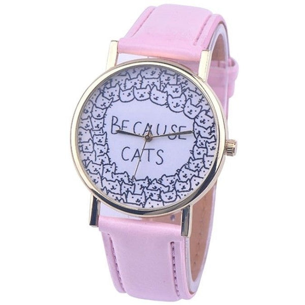 Because Cats Watch - Sweety Cats Boutique - 4