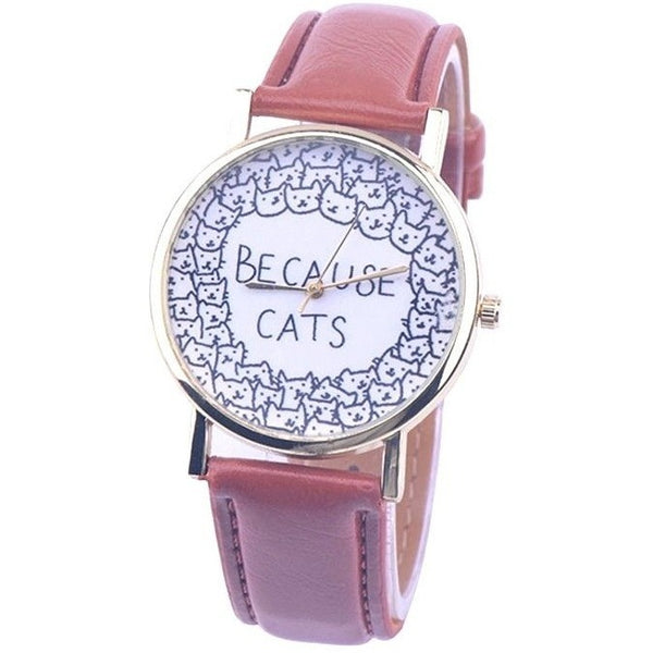 Because Cats Watch - Sweety Cats Boutique - 5