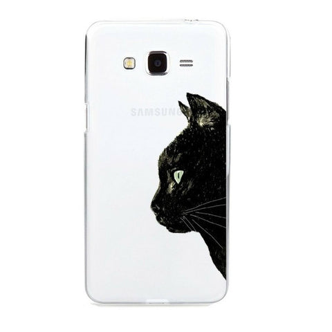 Cat Phone Cover black Cat - Sweety Cats Boutique
