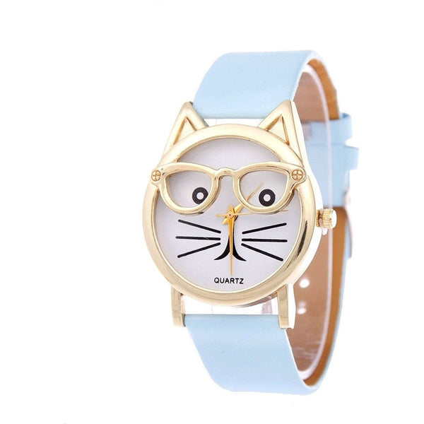 Cute Glasses Cat Watch - Sweety Cats Boutique - 11