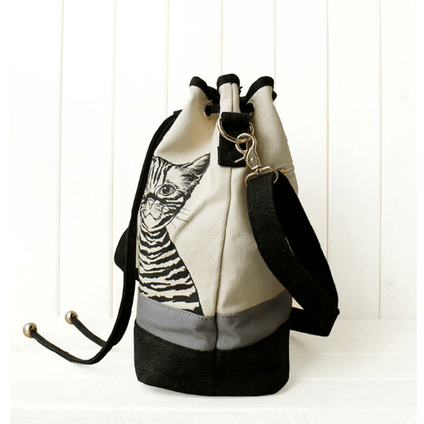 New ! Fashion Canvas Shoulder Cat Bag - Sweety Cats Boutique - 3