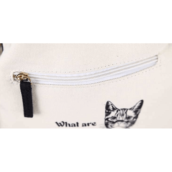 New ! Fashion Canvas Shoulder Cat Bag - Sweety Cats Boutique - 6