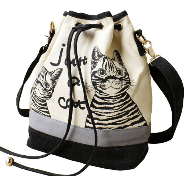 New ! Fashion Canvas Shoulder Cat Bag - Sweety Cats Boutique - 1
