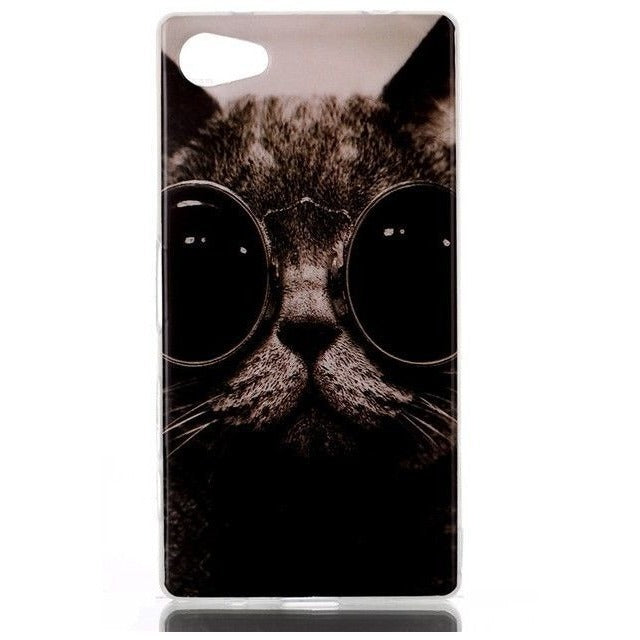 Cat Mobile Phone cover for Sony Xperia Z5 compact - Sweety Cats Boutique