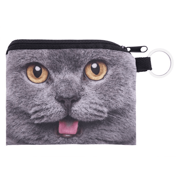 3D Cat keyring purse - Sweety Cats Boutique - 3