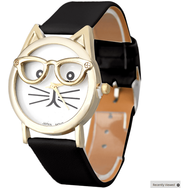 Cute Glasses Cat Watch - Sweety Cats Boutique - 9