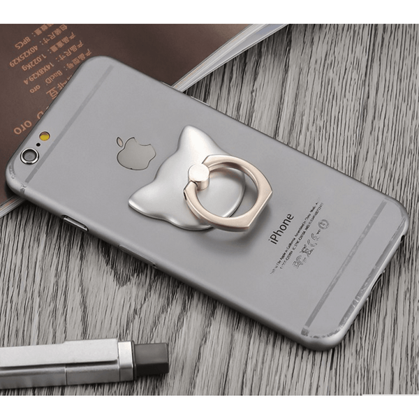 Cat finger Ring for Mobile Phone, Freedom support - Sweety Cats Boutique - 7