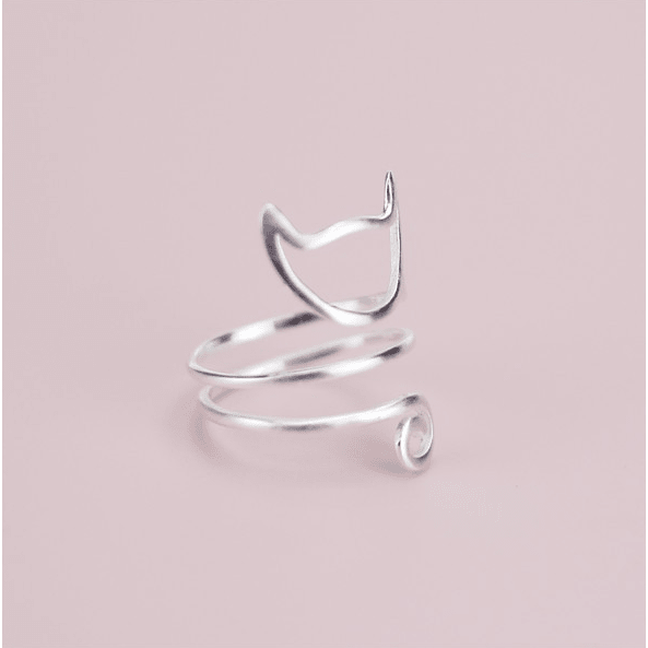 Sterling Silver Cat Ring - Sweety Cats Boutique - 5