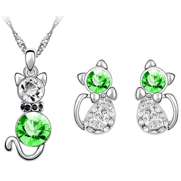 Cat Crystal Gemstones Set - Sweety Cats Boutique - 5
