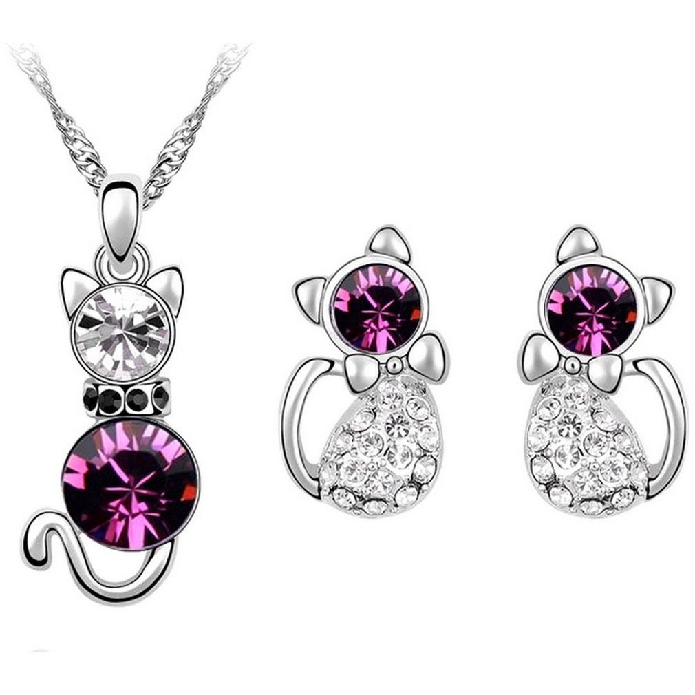 Cat Crystal Gemstones Set - Sweety Cats Boutique - 1