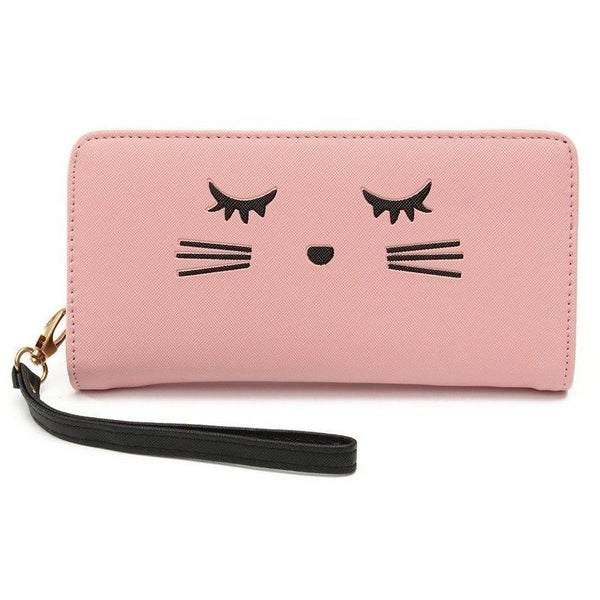 Cat eyelashes Women Wallet - Sweety Cats Boutique - 2