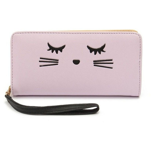 Cat eyelashes Women Wallet - Sweety Cats Boutique - 3