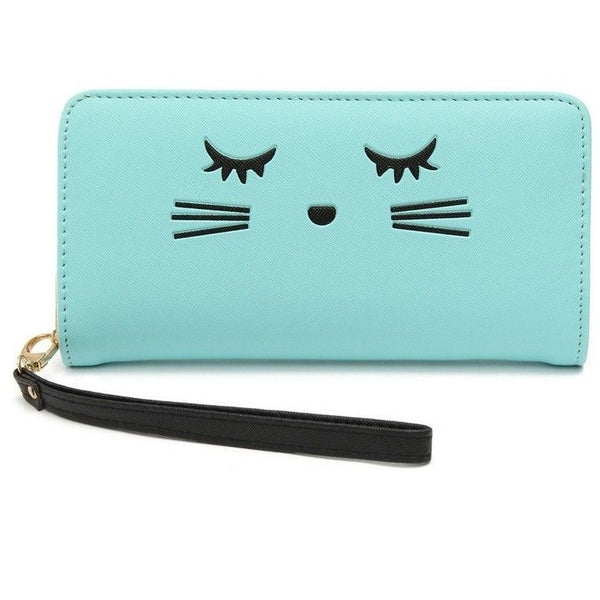 Cat eyelashes Women Wallet - Sweety Cats Boutique - 4