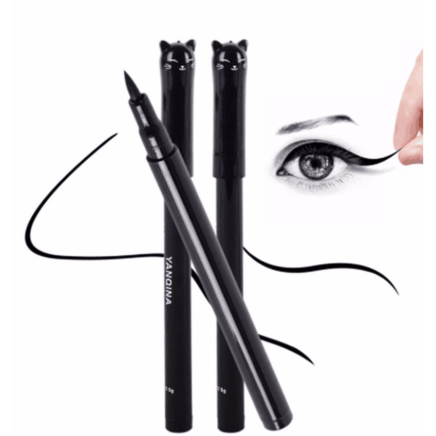 New! Cute Cat Style Black Long Lasting Waterproof Liquid Eyeliner - Sweety Cats Boutique - 1