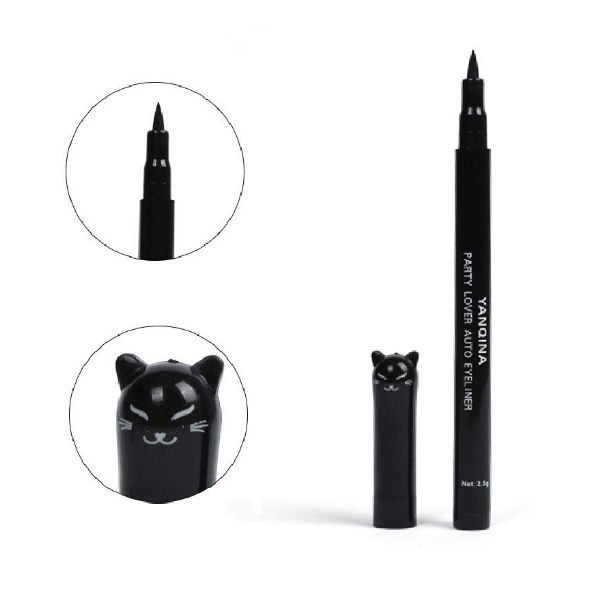 New! Cute Cat Style Black Long Lasting Waterproof Liquid Eyeliner - Sweety Cats Boutique - 3