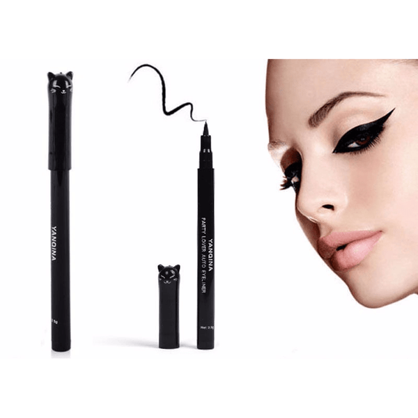 New! Cute Cat Style Black Long Lasting Waterproof Liquid Eyeliner - Sweety Cats Boutique - 2