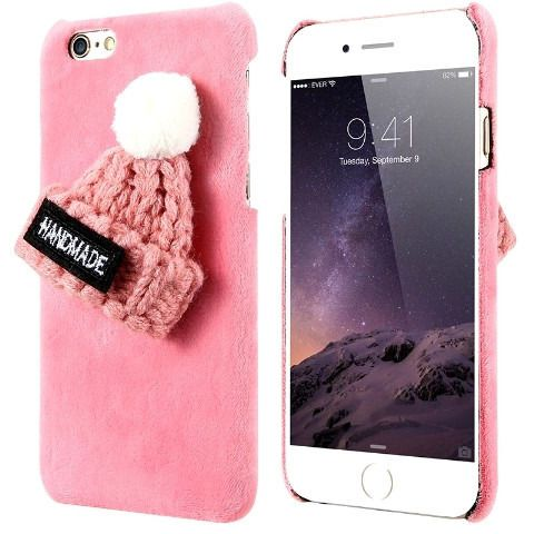 Fur Knitted Winter Hat Iphone Case - Sweety Cats Boutique - 3