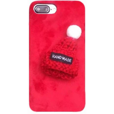 Fur Knitted Winter Hat Iphone Case - Sweety Cats Boutique - 2