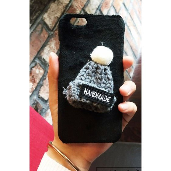 Fur Knitted Winter Hat Iphone Case - Sweety Cats Boutique - 9