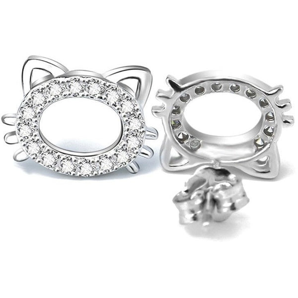 Glam Cat Earrings - Sweety Cats Boutique - 2