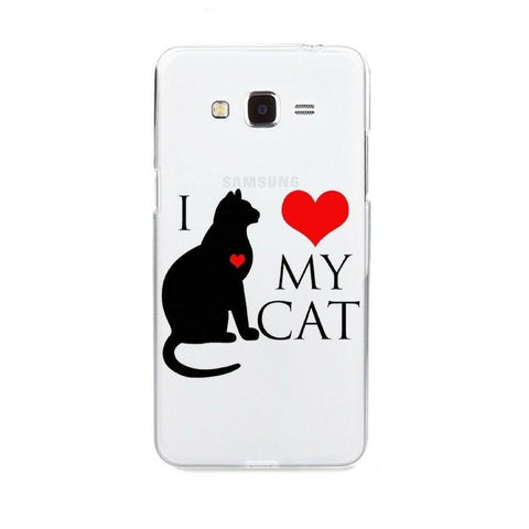 Cat Phone Case I love my Cat - Sweety Cats Boutique