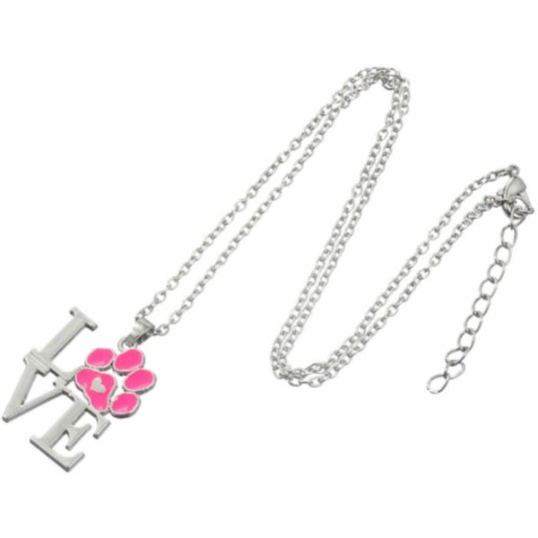Cat Paw Love Neckace - Sweety Cats Boutique - 2