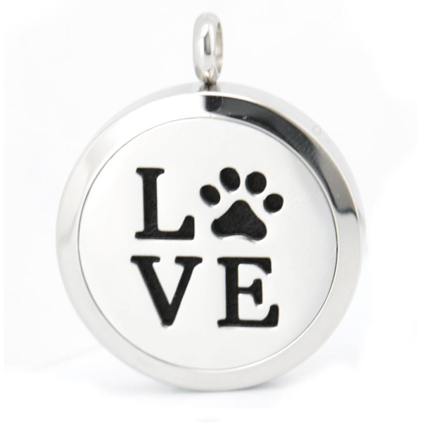 Just arrived-  Cat Paw Love Aromatherapy Perfume Necklace - Sweety Cats Boutique - 2