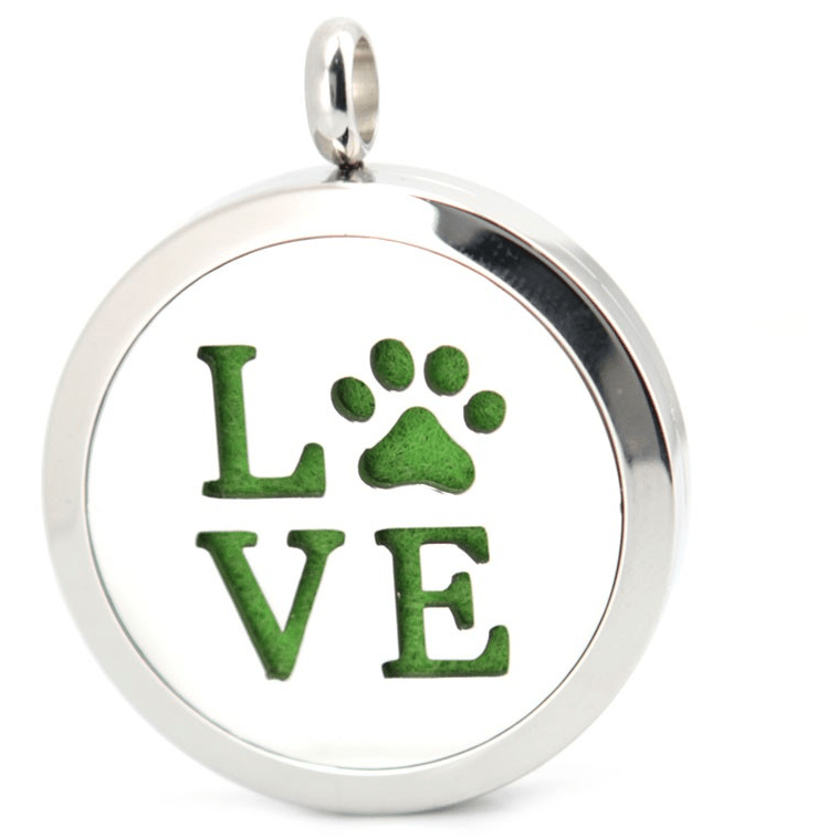 Just arrived-  Cat Paw Love Aromatherapy Perfume Necklace - Sweety Cats Boutique - 1