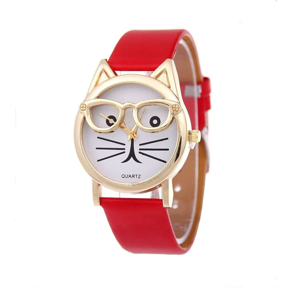 Cute Glasses Cat Watch - Sweety Cats Boutique - 10