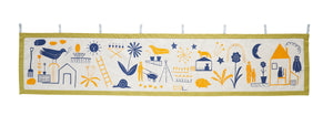 Caitlin Hinshelwood wall hanging banner screen printed fabric
