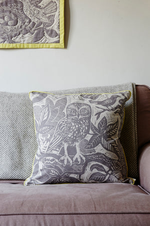 Owl Cushion by Mark Hearld
