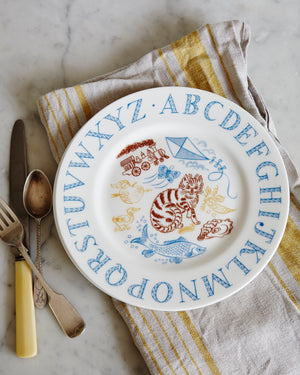 Alphabet Plate by Emily Sutton